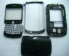 EMS OR DHL 50Pcs Black/White Original Full Housing Cover For Blackberry Curve 9360 Front Frame+Middle Frame+Battery Case