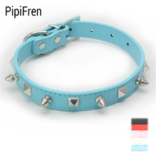 PipiFren Small Dogs Collars Spiked Accessories Puppy Necklace For Pet Cats Supplies laisse chien retractable pettorina cane