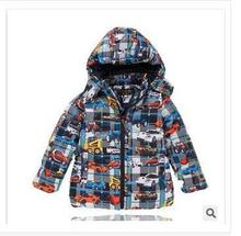 boy winter down 2014 jacket baby Blasting cotton down jacket Europe and the United States fashion child down jacket freeshipping