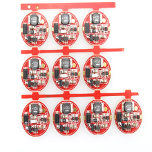 17mm 4.2V 2.5A 1-Mode 1x18650 CREE XML T6 LED Circuit Board for LED Flashlight (5pcs/lot)(China)