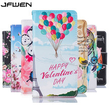 For Coque Huawei Y5 II Y5 2 Case Luxury Leather Flip Case Cover For Fundas Huawei Y5 II Protective Mobile phone Case Card Holder(China)