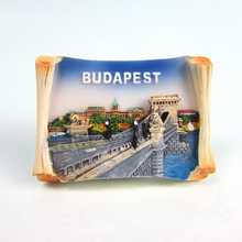 Budapest Hungary Tourism Souvenirs Fridge Magnets Handmade Resin Refrigerator Magnetic Message Stickers Home Decor Decoration(China)
