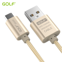 GOLF 3m Ultra Long Braided Wire Fast Charging USB Data Sync Charger Cable For iPhone 5S 6 6S 7 8 Plus X Samsung S6 S7 Edge LG G3(China)