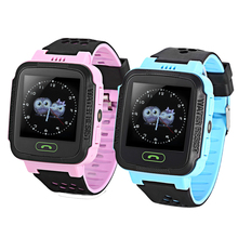 Fashion A16G Kids LCD Display GPS Smart Watch Telephone child 1.44 inch mini Support Micro SIM card Smartwatches for Android ios(China)