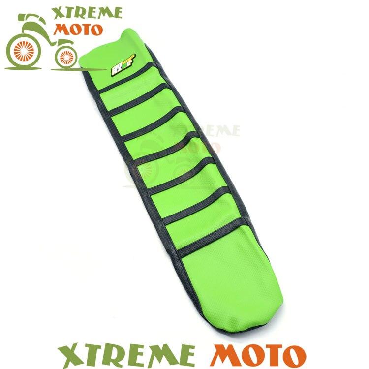 Gripper Soft Seat Cover For Kawasaki KXF250 KX250F 09-12 KXF450 KX450F 09-11 Motorcycle Motocross Supermoto Dirt Bike Off Road<br>