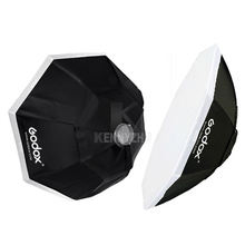 "2pcs/lot Godox 95cm/37"" 120cm/47"" 140cm/55"" Bowens Mount Octagonal Softbox Octa Soft Box for Photo Studio Flash Strobe"