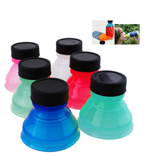 Support wholesale 6pcs Tops Snap On Pop Soda Can Bottle Cap Caps