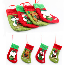Santa Sacks Christmas Stockings Gift Holders Bags Christmas Tree Ornaments Navidad Toys New Year Home Party Decoration Supplies