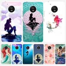 Ariel little mermaid  cell phone case cover for For Motorola Moto G5 G4 X+1 PLAY PLUS ONE style G4 PLUS