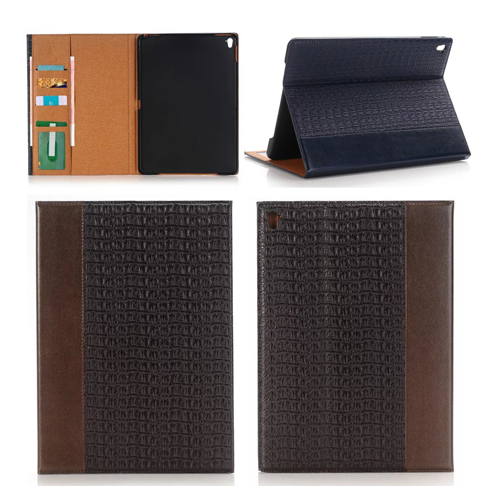 New HQ luxury retro Crocodile Pattern leather Case for ipad pro 9.7 for ipad air3 Wake up /Sleeping smart case free film<br><br>Aliexpress