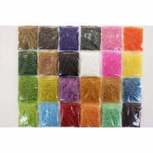 Tigofly 24 Colors Fly Tying Beads Small Sinking Glass Ceramic Mimic Nymph Head Shrimp Crab Bee Fly Eyes Tying Materials
