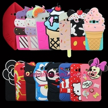 For Samsung Galaxy Grand Prime G530 Cover HOT 3D Silicon Cupcake Dog Cat Unicorn Cartoon Soft Phone Back Case(China)