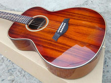 Handmade K24ce Classical acoustic guitar,Flower inlays fingerboard,2017 Top quality Factory Custom KOA wood acoustic Guitarra