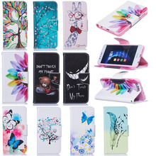 Luxury PU Leather Back Cover Case Protective Shell For Huawei Honor 8 Clamshell Wallet Flip Phone Case With Card Holder