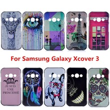Newest Super Hot Brand Fashion Design Pattern Hard Back Cover Case For Samsung Galaxy Xcover 3 Xcover3 G388F 3-east