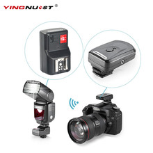 YINGNUOST 4 Channel Wireless Remote Radio Flash Trigger + One PC Receiver for Canon/Nikon/Yongnuo Camera Universal Hot Shoe(China)