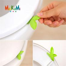 2016 Bath Set Cartoon Toilet Cover Lifting Device Bathroom Toilet Lid Portable Bathroom Toilet Seat Clamshell Holder Accessories