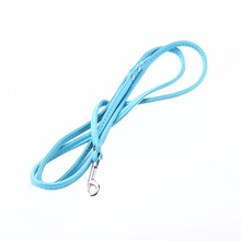 Newest Pet Dog PU Leather Training Leash Lead Strap Rope Adjustable Traction Collar
