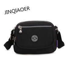 JINQIAOER 2017 New Travel Waterproof Messenger Bag Women Shoulder Nylon Bag for Ladies Bolsa Fashion Sea Beach Small Bags CH010(China)