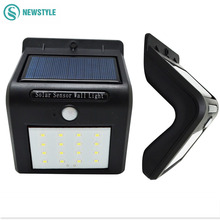 8/16 Leds Solar lamp outdoor Pir & Night led sensor light solar garden lighting using decoration street - newstyle franchised Store store