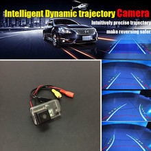 Auto Accessories Intelligent Trajectory Back Camera Dynamic Trajectory Images Rear Camera For Citroen C3 Picasso / C4 Picasso
