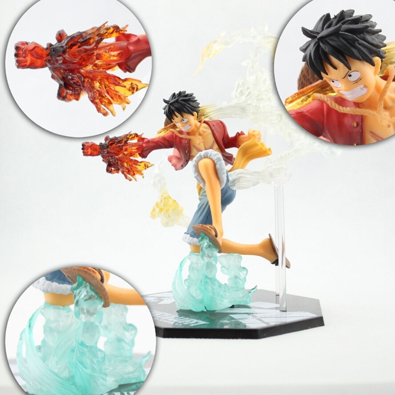 7 One Piece Monkey D Luffy Battle Ver. Zero Boxed PVC Action Figure Collection Model Toy Gift Free shipping<br><br>Aliexpress