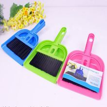 1PC Effective Multipurpose Color Random Long Handled Plastic Keyboard Computer Cleaning Brush Crevice Scrubber Dust Shovel(China)