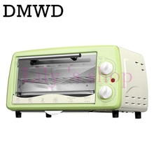DMWD Mini household Electric oven Multifunction Pizza cake Baking Oven with 30 Minutes Timer Stainless Steel Toaster 12L(China)