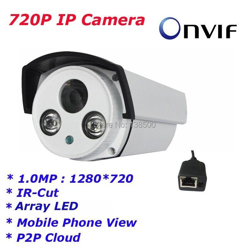 Free Shipping Hot Selling 720P Night Vision Network IR Securiy CCTV IP camera, ONVIF 2.0, 6mm lens ,2pcs Array LED<br><br>Aliexpress