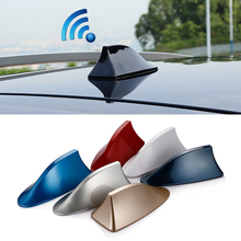 For volkswagen vw passat b5 b6 polo sedan cars shark fin antenna car aerials with blank radio to auto roof antena and 3M sticker