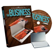 The Business (DVD and Gimmick) Magic,card magic,close up magic,accessories 2014 new magic trick(China)