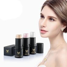 Hot Popular Huamianli Highlight Rods Powder Stick Gold Shade And Silver Shimmer Powder Makeup Cosmetics Nov 1
