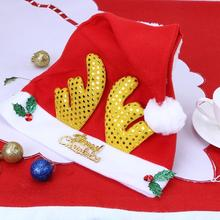 Christmas Hat ecorations Decoration for Home Elk Antlers Santa Claus Hats Xmas Party D Xmas Supplies Add Christmas Atmosphere(China)