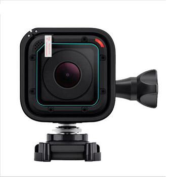 KomoKe Tempered Glass Protector Cover Case For GoPro Go pro Hero 4/5 Camera Lens