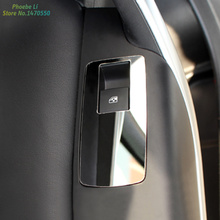 4pcs/set Stainless steel Window Buttons Decorative Frame For Opel Insignia sedan Sport Tourer 2009 -2015