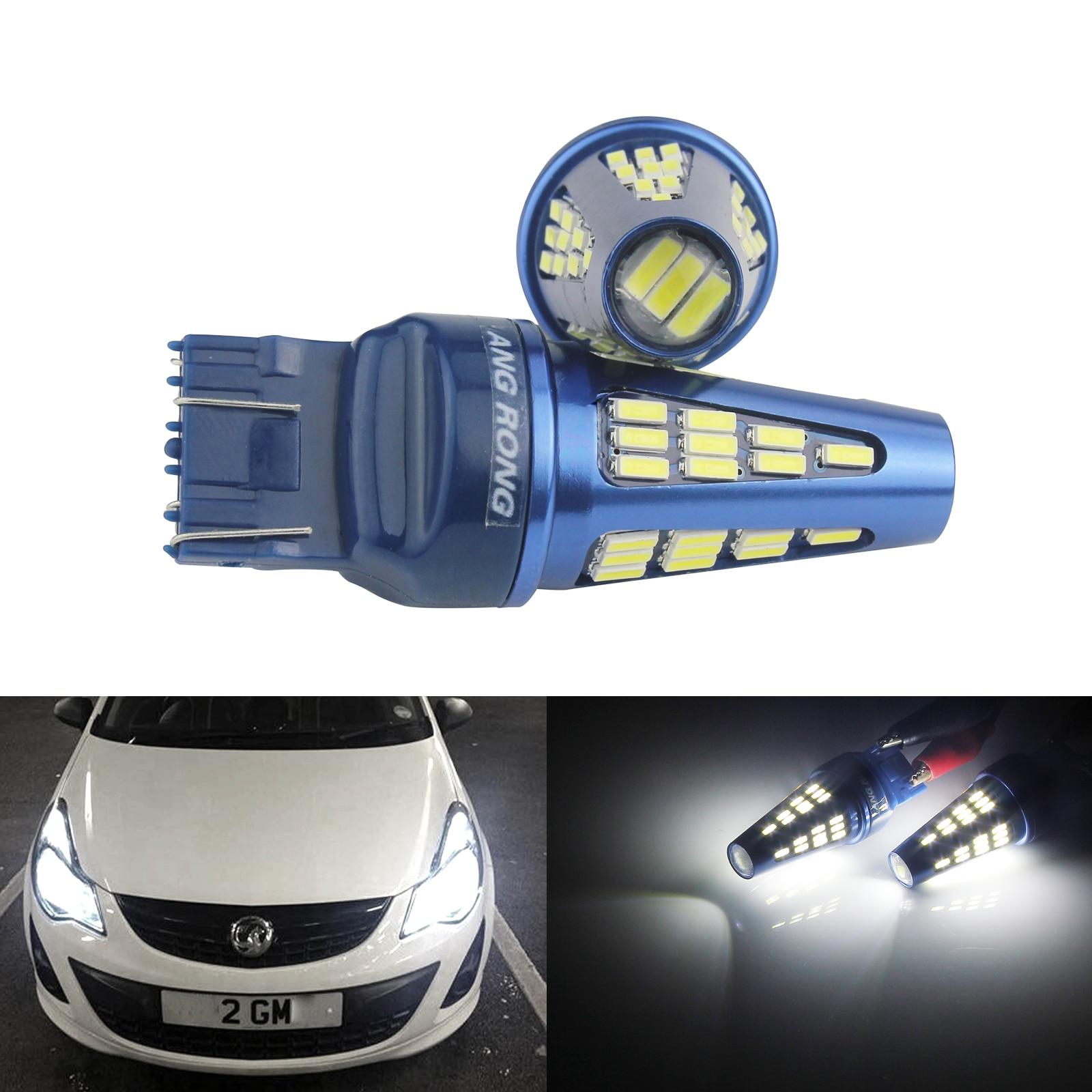 T20 W21//5W 580 Clear Sidelight Bulbs DRL BMW Vauxhall Insignia CORSA D ASTRA J