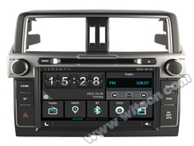 "9"" Capacitive Touch Screen Car DVD for Toyota Land Cruiser Prado J150 2014 2015 2016 2017 2018 with Front DVR Camera Support(China)"