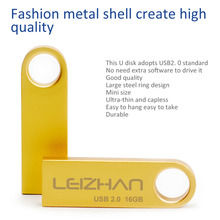 LEIZHAN USB Flash Drive 64gb 32gb 16gb 8gb 4gb USB Stick usb 2.0 External Storage Computer Memory Stick Pen Drive Pendrive Key