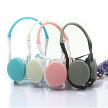Candy Color Cute Headphones Luminous Ear Hook With Microphone for Birthday Gifts Portable Sport Earphones Headset Promotion