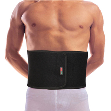 Adjustable Trainer Waist Support Fitness Belt Sport Waistband Power Tummy Slim Belts Neoprene Safety Gym Back Protector 50011
