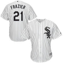 MLB Men's Chicago White Sox Todd Frazier Baseball White Home Cool Base Player Jersey(China)
