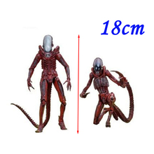 2pcs/set NECA 7'' Aline Genocide Xenomorph big chap dog Aliens predator concept PVC action figure Collectible model Doll toys(China)