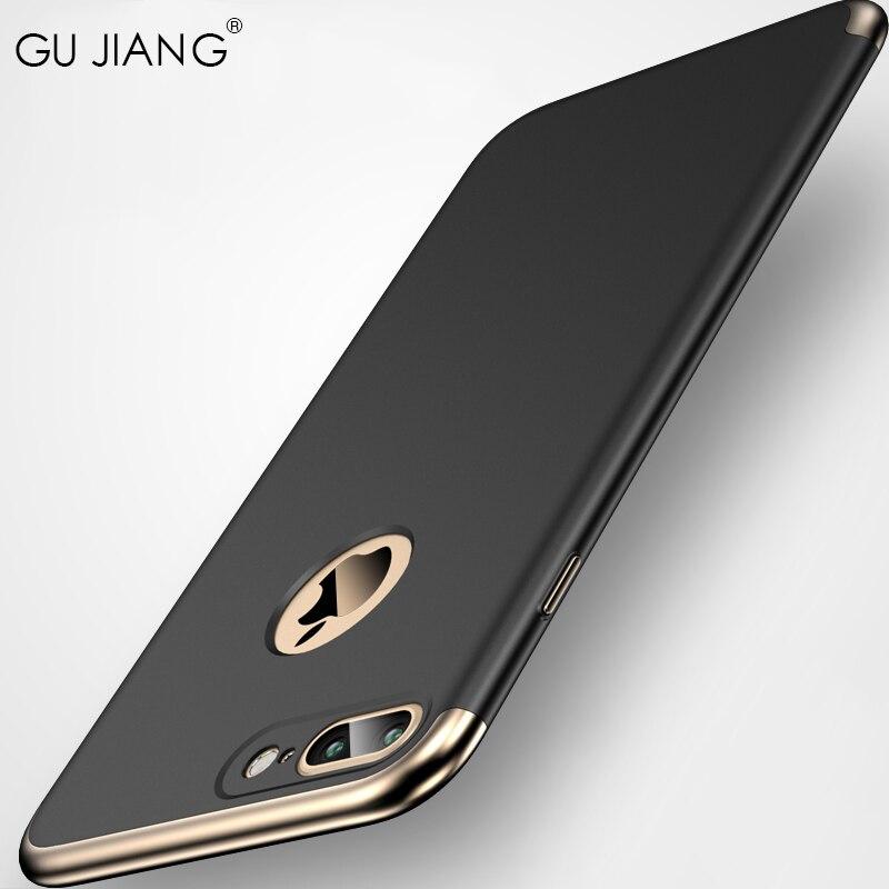 GU JIANG Brand Luxury 3 in 1 Full Cover Slight Mat...
