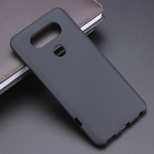 Black Gel TPU Slim Soft Anti Skiding Case Back Cover For LG V20 H910 H918 LS997 US996 VS995 H990DS Phone Rubber silicone Bag(China)