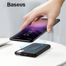 Buy Baseus Wireless Power Bank 10000mAh Portable External Battery Charger Powerbank iPhone X 8 8plus Samsung S9 Phone Power Bank for $27.99 in AliExpress store