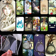 5 5S SE Wholesale Price Silicon Painting Totoro Phone Cover Case For Apple iPhone 5 iPhone 5S iPhone5S Cases Shell Top Fashion