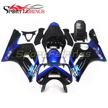 Motorcycle Fairings For Kawasaki ZX6R ZX-6R 636 Year 2003 2004 03 04 Sportbike ABS Full Fairing Kit Moto Bodywork Elf Black Blue