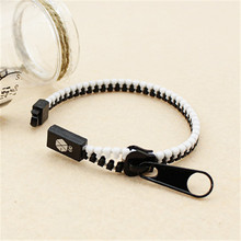 Wholesale k-pop EXO EXO-K EXO-M XOXO Fashion Zipper Bracelet For Women / Men's Hand Catenary P0252 P0753 P0444 P0464 P0462(China)
