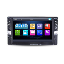 6.6 inch Bluetooth Car MP4 MP5 Player HD Touch Screen Support Rear View Camera Handsfree Car Audio Video FM USB SD AU(China)