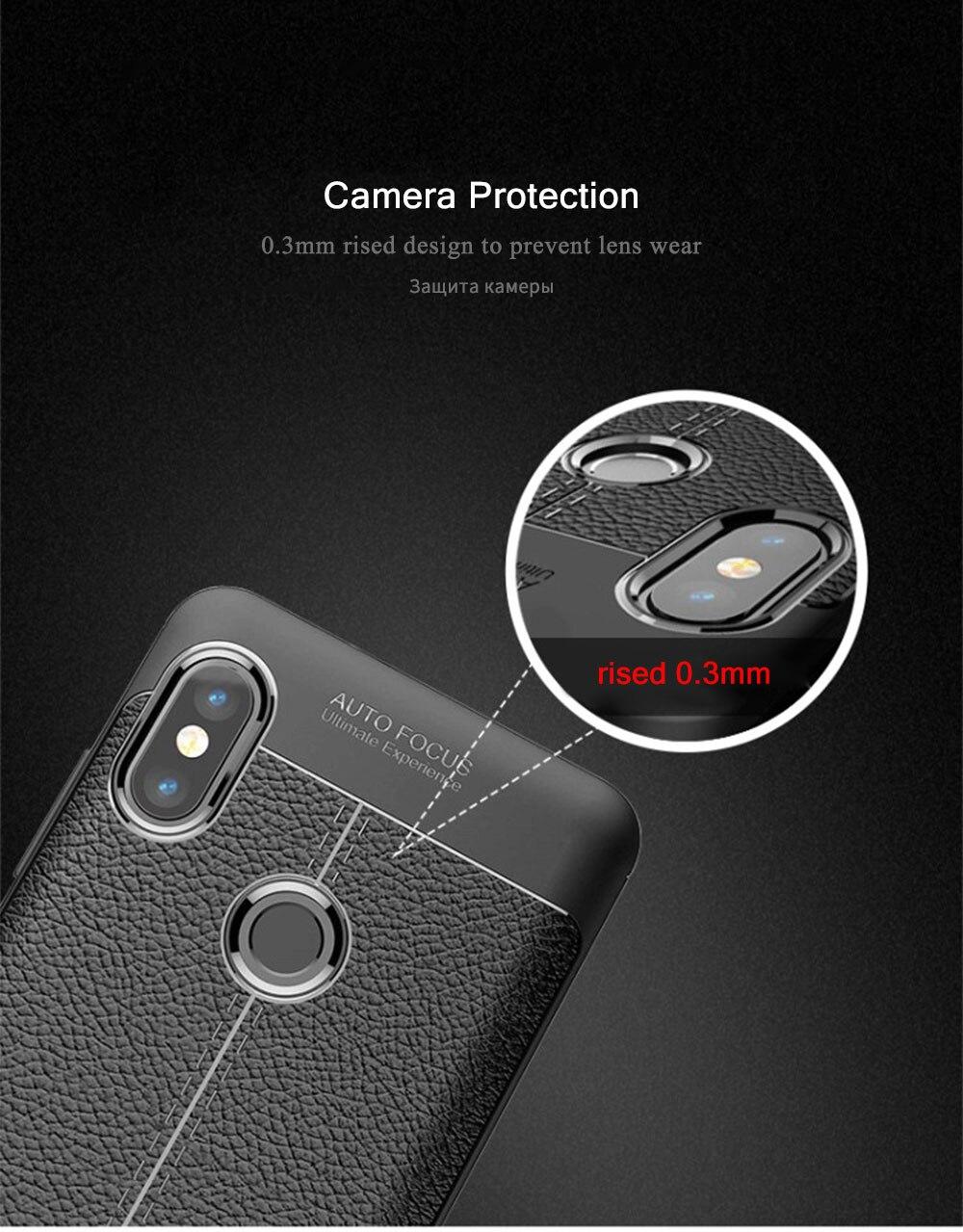 Xiaomi Redmi Note 5 Pro Case Note 5 غطاء هاتف 4